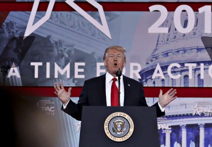 Trump a rueda libre: su discurso en el CPAC