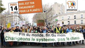 [10 ans Pressenza – Paris] Évènement : « Quel est ton engagement pour la planète ? »