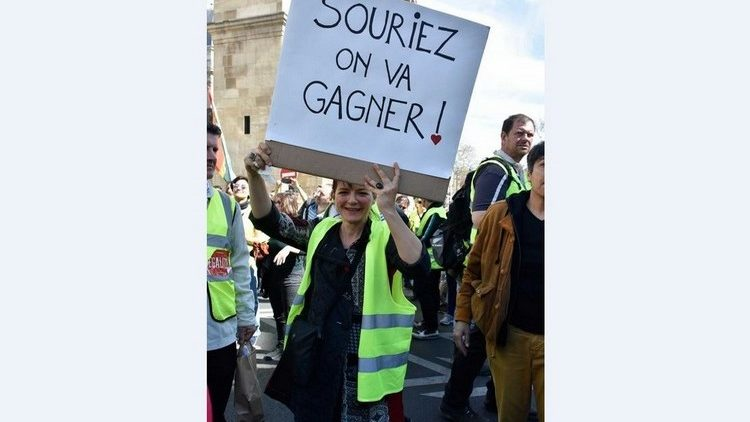 Akt 20 Gelbwesten Frankreich