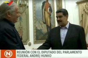 Andrej Hunko MdB bekennt sich in Caracas zur Solidarität mit Venezuela