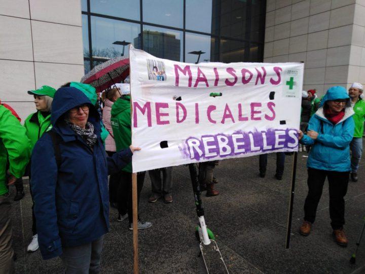 Hoy en Bruselas toda Europa ha proclamado «Nuestra Salud no está en venta»