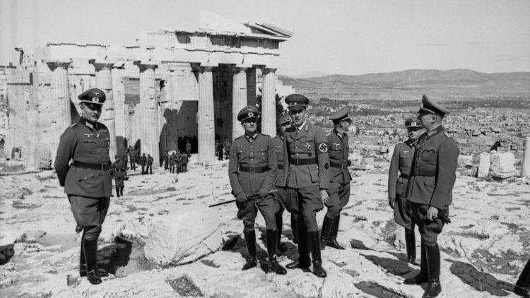 Athen - Reparationsforderungen an die BRD