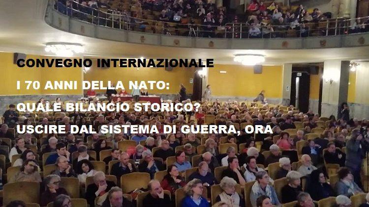 Convegno internazionale Firenze NO guerra No nato