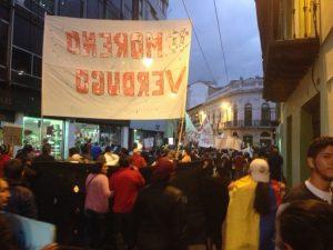 [Contestation contre le gouvernement de Lenin Moreno] Le 16M en Équateur