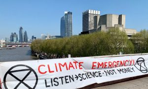 Climate Emergency: Extinction Rebellion protest, London