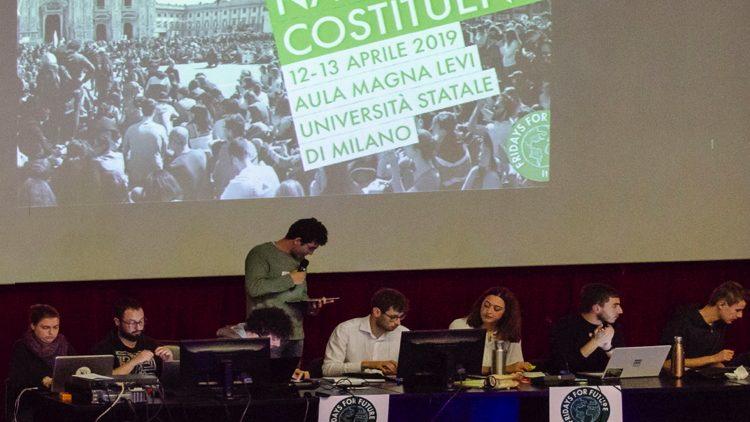Assemblea Costituente FridaysForFuture a Milano