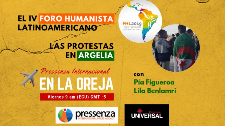 foro humanista latinoamericano protestas argelia