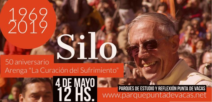 50th anniversary of the public launch of Siloism: pilgrims from all over the world now arrive in Punta de Vacas, Argentina