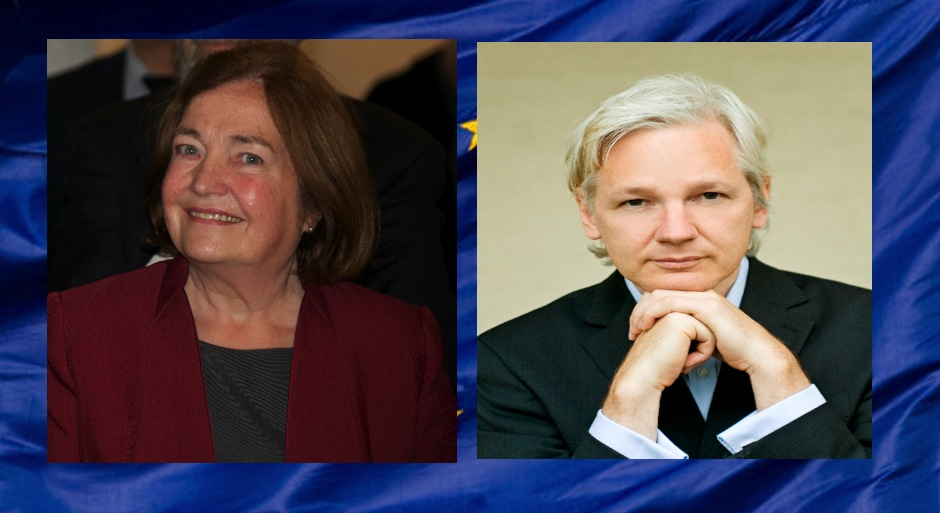 Mairead Maguire asks to visit Assange in prison