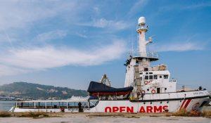 Open Arms: el gobierno español autoriza la salida pero no el rescate marítimo