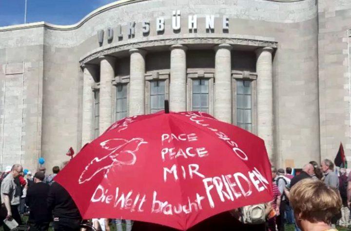 Ostermarsch Berlin 2019: die Welt braucht Frieden statt Kriegsbündnisse