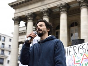 Discurso de Pablo Servigne, investigador independiente, como parte de la Declaración de Rebelión contra la aniquilación de la vida