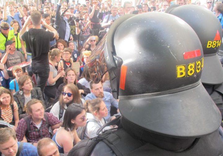 Incontro elettorale estrema destra europea a Praga