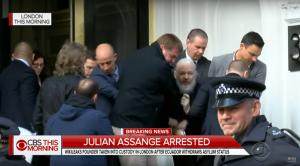 Roma, arresto Julian Assange: venerdì 12 aprile flashmob nei pressi dell'ambasciata inglese