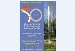 Samedi 4 Mai 2019 – Célébration : Silo, 50 ans de la «Guérison de la Souffrance»