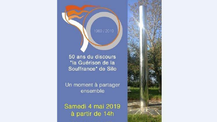 Samedi 4 Mai 2019 : Célébration : SILO, 50 ans de la « Guérison de la Souffrance »