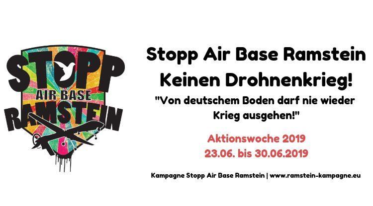 Stopp Air Base Ramstein - Keinen Drohnenkrieg