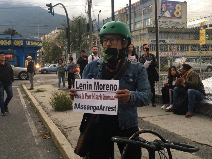 Julian Assange: a sense of the reaction in Quito, Ecuador