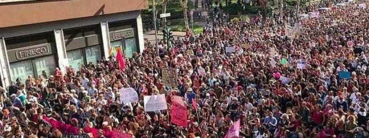 Attacco globale ai diritti: a Verona in 150mila contro il Congresso delle famiglie ma per la questura sono 30mila e i giornali ci cascano
