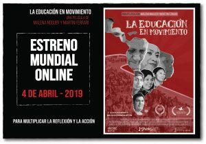 Estreno mundial online: La Educación en Movimiento