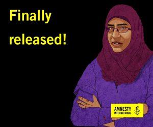 Egitto, rilasciata dopo due anni leader del movimento dei familiari degli scomparsi