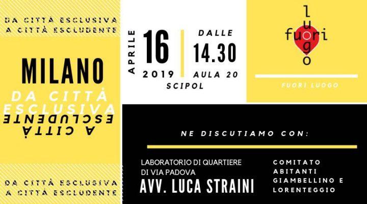 Milano, da città esclusiva a città escludente