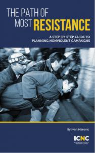 El nuevo manual de campaña del líder Otpor! demuestra que la estrategia es para todos
