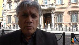 El senador chileno Navarro en Roma para denunciar la planta de ENEL que contamina la región del Biobío