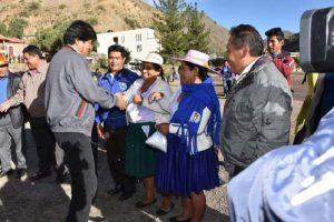 Presidente de Bolivia reitera derecho de la población a la salud