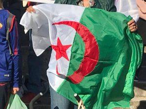 La comunità algerina in Italia manifesta a Roma per delle elezioni libere e democratiche in Algeria