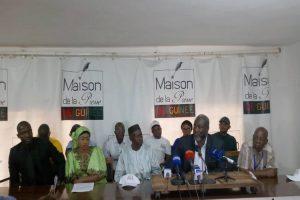 Conakry : lancement officiel du Mouvement pour la Quatrième République