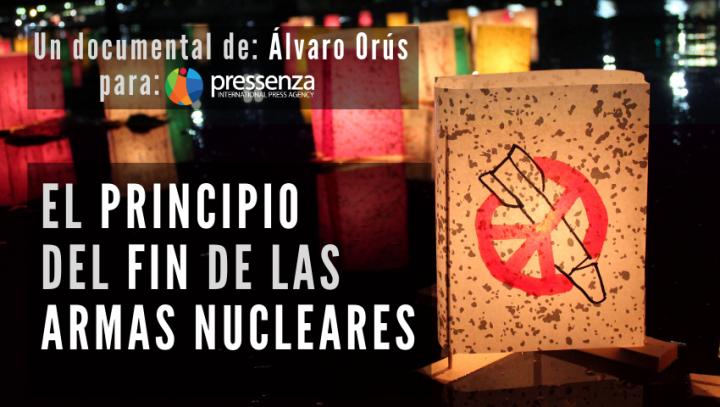 """Reação positiva ao novo documentário de Pressenza, """"O Princípio do Fim das Armas Nucleares""""."""