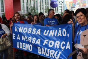 Μαζική κινητοποίηση στο Σάο Πάολο της Βραζιλίας στην Εθνική Εκπαιδευτική Απεργία
