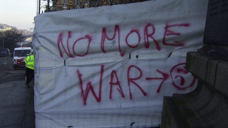 No more war