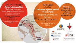 Milano, due iniziative sul viaggio dei migranti lungo la rotta balcanica