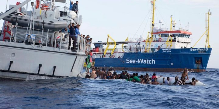 One of Europe's last migrant rescue ships defies political pressure to save lives