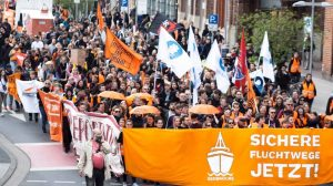 SEEBRÜCKE: ¡Coloreamos a Hannover de naranja!