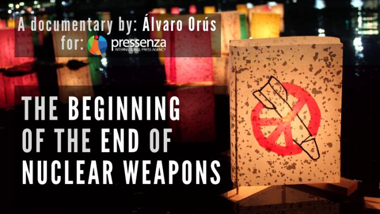 Première mondiale du film documentaire « Le début de la fin des armes nucléaires », 6 juin, New York