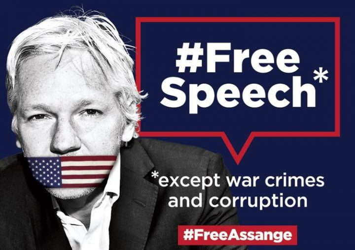 Campagna di Amnesty International per annullare le accuse contro Assange e impedirne l'estradizione