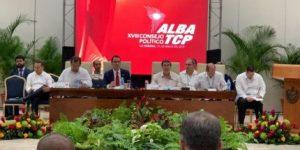 Culminó Sesión del Consejo político del ALBA-TCP con llamados a la unidad, la integración y el rechazo a la injerencia