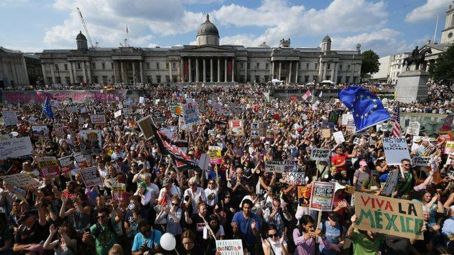 Together Against Trump – Stop the state visit