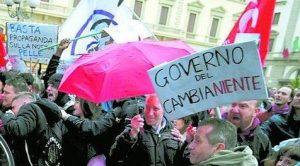 """Associazioni e movimenti scrivono al governo del """"cambianiente"""""""