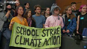 Alerta global: jovens param – de novo – pelo clima