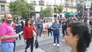 """Acto de campaña del Partido Humanista en Madrid: """"Necesitamos construir un nuevo modelo de sociedad"""""""