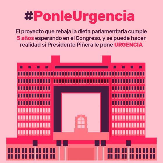 Chile: Frente Amplio busca reducir sueldo de parlametarios