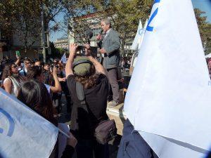 91,04% de los profesores chilenos votó a favor de sostener el paro