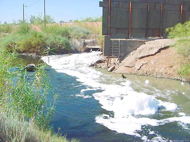 Antibiotics resistance and rivers contamination