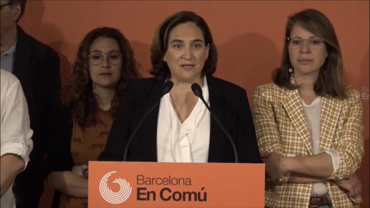 L'investitura politica più incerta della città di Barcellona
