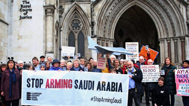 Campaigners outside the UK Court of Appeal in London