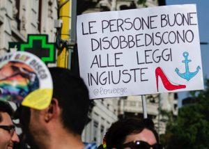 Solidaridad con Carola Rackete por un ex hombre bajo sombra